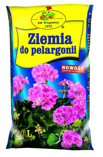 ZIEMIA DO PELARGONII 20L  KIK